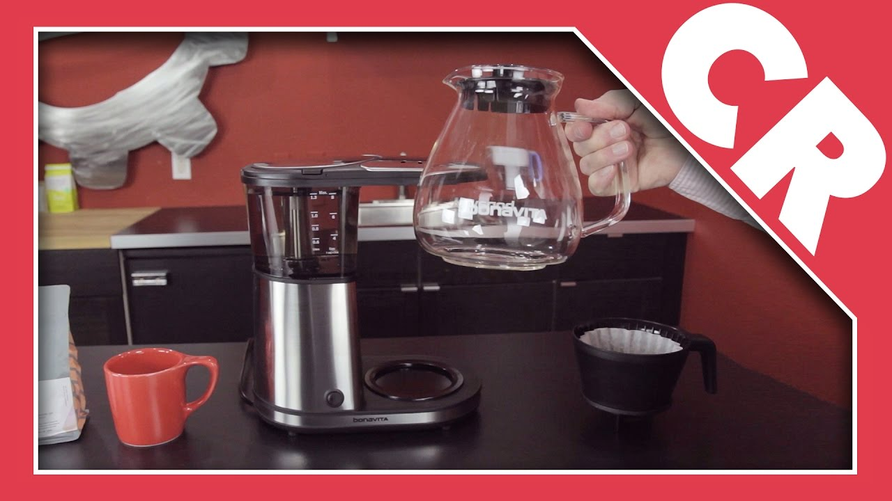 Bonavita Coffee Maker Stopped Working : Bonavita 8-Cup Coffee Maker with Glass Carafe Crew Review - YouTube