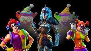 NEW LEAKED SKINS V5.41 - Fortnite Battle Royale - VALKYRIE , PEEKABOO et NITE NITE SKINS