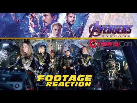 Play Avengers: Endgame FOOTAGE REVEAL - CinemaCon 2019