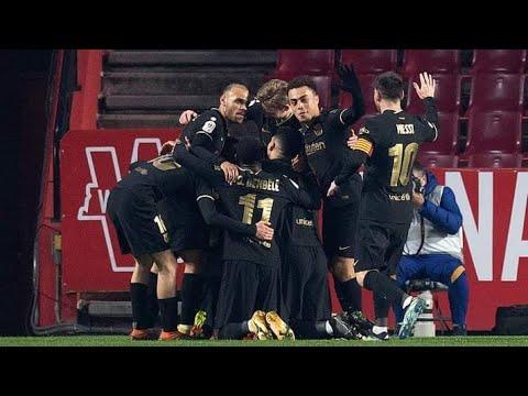 Download Granada vs Barcelona 3-5 | All Goals Highlights | 1080pi