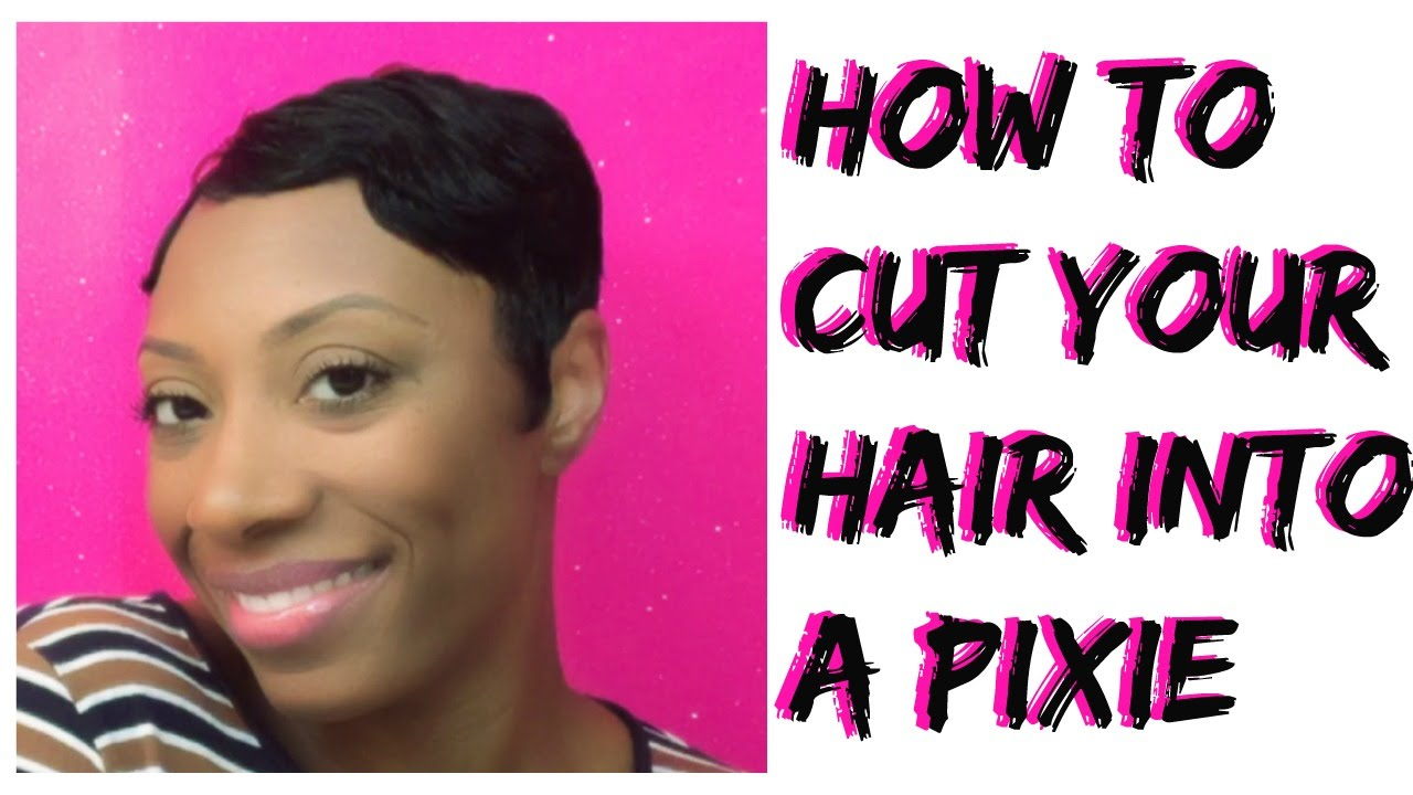 how to style hair cut how to cut your own hair into a pixie cut or cut 3614