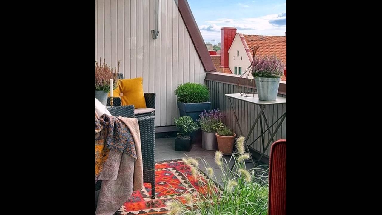 Boho chic balkon gärten   youtube