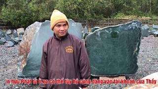 Phát Tâm Cúng Dàng Thỉnh Ngọc Quý Tạo Tượng Yểm Tâm Tại Đại Tượng Phật A Di Đà Chùa Khai Nguyên