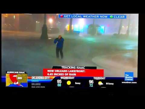 Hurricane Isaac NO