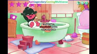 Baby Looney Tunes Bedtime Bubbles WalkThrough - Completing The Game in Luig Group Effect