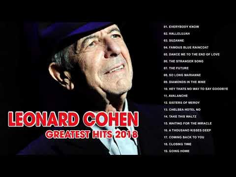 Leonard Cohen Greatest Hits 2018 II Top 30 Best Songs Of Leonard Cohen
