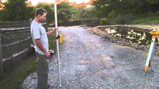 Quick Way to FInd Slope with a Laser Level