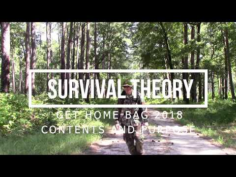Get Home Bag 2018 Contents and Purpose