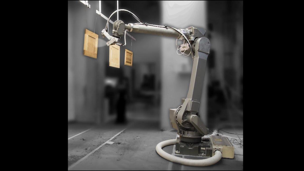 New FANUC P-350iA Paint Robot Coats Cabinets Using Self-Learning ...