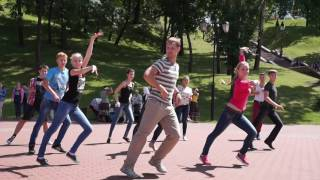 Танцы в Витебске - меренге (показательное выступление на открытом уроке)