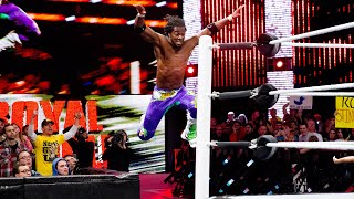 Watch the incredible athleticism and ingenuity of Kofi Kingston's miraculous saves during the Royal Rumble Match. GET YOUR 1st MONTH of WWE NETWORK ...