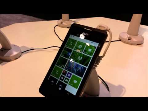 Acer Liquid M220 & Liquid Leap+ - video demo @ MWC 2015
