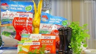 Wielkanocne przepisy Macieja Goncerzewicza - Miruna Patagońska ze szparagami w sosie szafranowym
