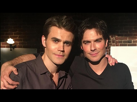 The Vampire Diaries Cast Shares EMOTIONAL Goodbyes On Final Day of Shooting