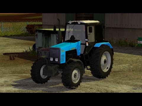 Farming Simulator 2015   Трактор МТЗ-1221   Обзор   Overview