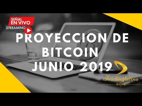 PROYECCIÓN DE PRECIO Y TENDENCIA DE BITCOIN   CRIPTOMONEDAS JUNIO 2019   BITCOIN V203