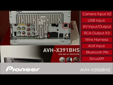 Pioneer AVH-X391BHS - What's in the Box? on stereo amp wiring, subwoofer wiring, kenwood stereo wiring, dvd player wiring,