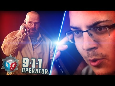 wtf... They REALLY gonna put WALTER WHITE in this Game?? [911 Operator Simulator]