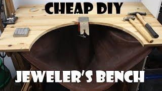 DIY jeweler's bench