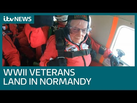 Bree - Remembering D-Day w/ WWII Veterans Parachuting Back into Normandy