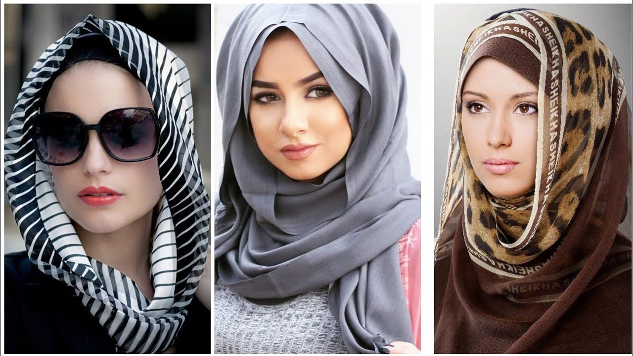 Latest Hijab Tutorial 2020 Different Face Shapes Hijabi Fashions