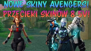 JETZTSKINY AVENGERS! PRZECIEKI SKIN-W PATCH 8.5 - Fortnite Battle Royale