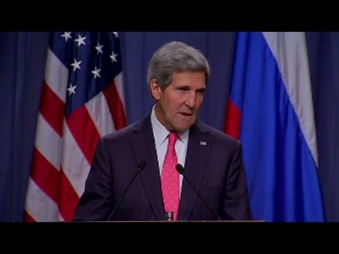 John Kerry outlines U.S.-Russia agreement