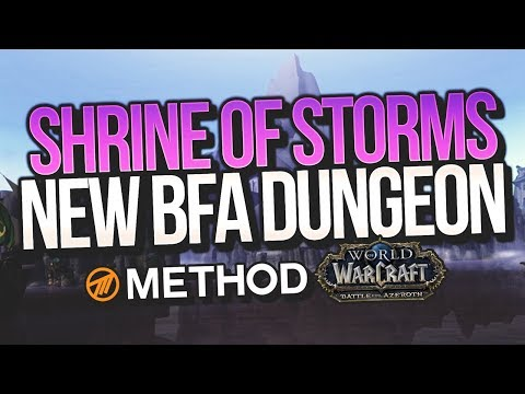 BFA Alpha: Shrine of Storms NEW DUNGEON PLAYTHROUGH FIRST LOOK! - Method