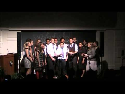 Harvard VoiceLab - Bridge Over Troubled Water by Simon & Garfunkel - Spring 2013