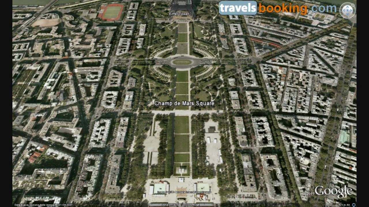 Paris Virtual Tour with Google Earth - Part 1 - YouTube
