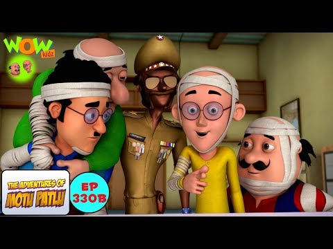 Chingum Ke Chacha - Motu Patlu in Hindi - 3D Animation Cartoon for Kids -As seen on Nick