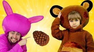 Мишка Косолапый по лесу Идет | Песни для Детей | Сборник Детских Песенок | Чух Чух ТВ