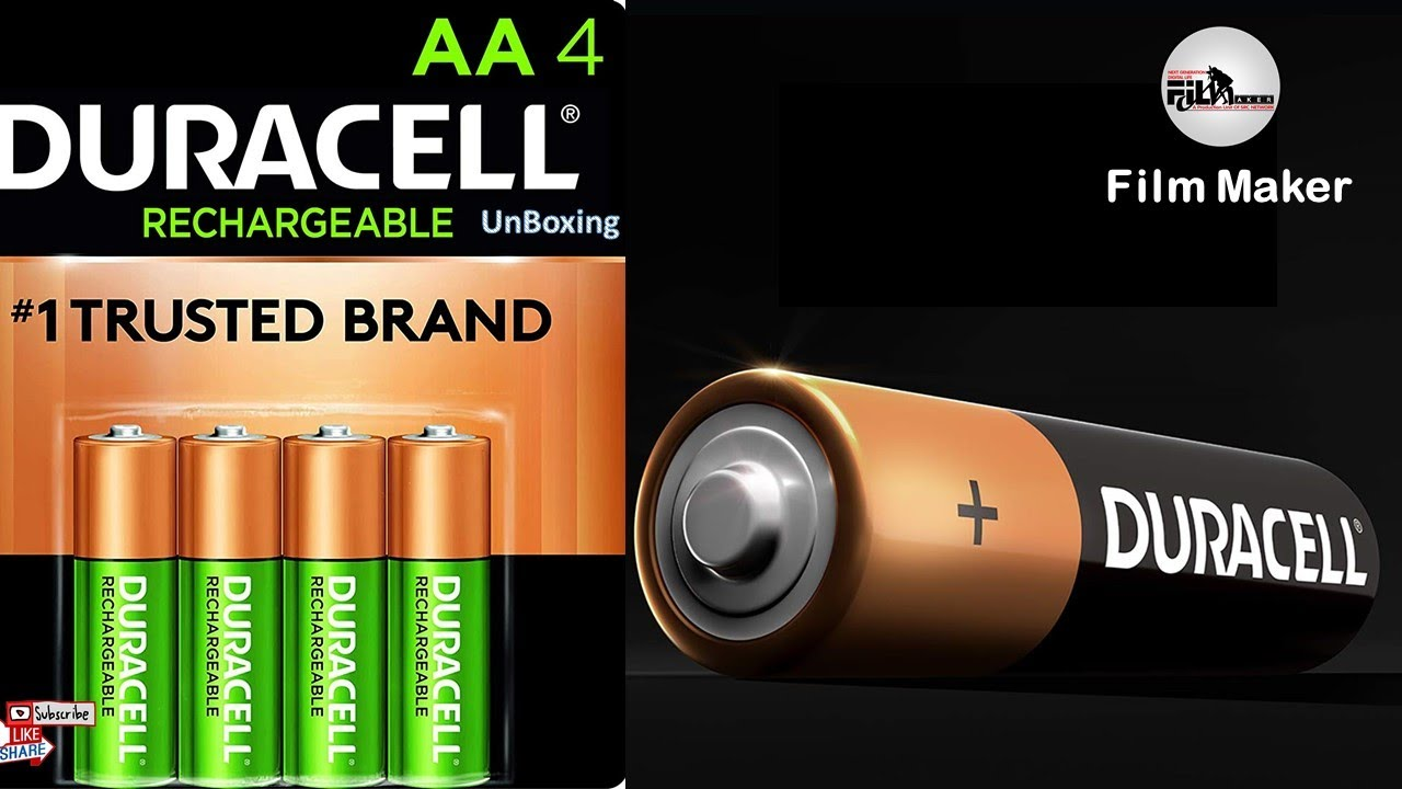 Download #UnBoxing : #Duracell Rechargeable Ultra Type AA #Batteries