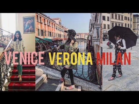 EURO TRIP: VENICE, MILAN and 5 star Hotel Room Tour Vlog No. 3| Anushae Says