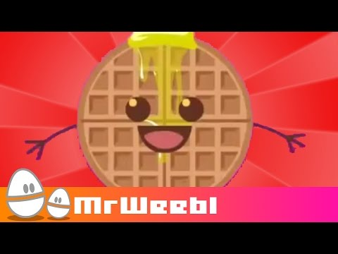 Waffles : animated music video : MrWeebl