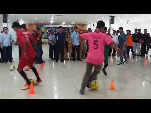 Coaching Clinic ( Dribbling ) _ Indra Siafri Pelatih TIMNAS U 19.
