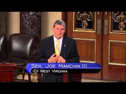 Manchin Discusses Presidential Nominations on the Senate Floor