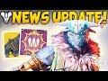 Destiny 2 NEW HIDDEN SUPER LMG TEASE Exotics Found Best Token Farm Loot Update mp3