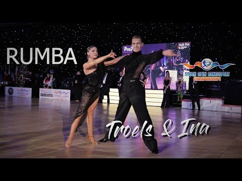 Troels Bager & Ina Jeliazkova I Rumba I South Open Dancesport Championships 2018