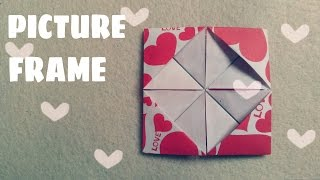Origami for Kids - Homemade Picture Frames
