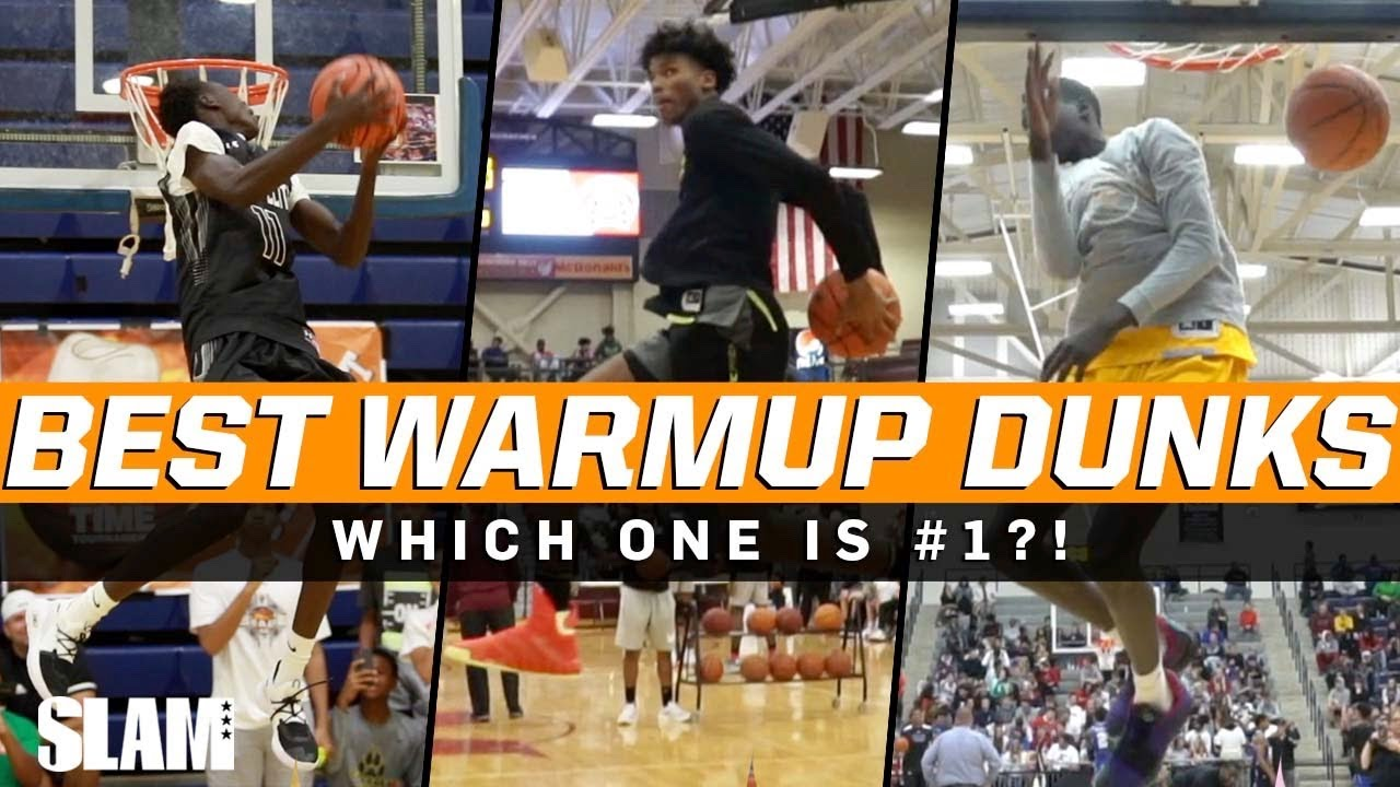 BEST Warmup Dunks of all time 🔥 SLAM Top 50 Friday