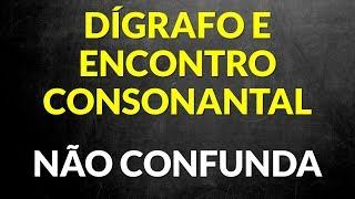 📌Aprenda a diferença entre Encontro Consonantal e Dígrafo [Prof. Alda]