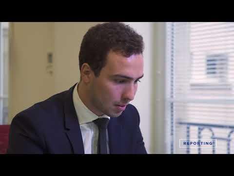 Hugo est analyste financier chez PERIAL
