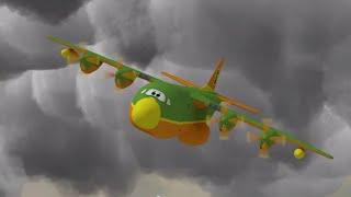 Мультфильмы - Будни аэропорта 2 - Берегись торнадо - Cерия 64