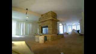 Stone Fireplace Build