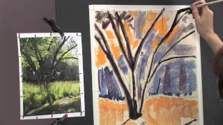Painting Realistic Landscapes In Pastel: Mixing Greens With Liz Haywood-sullivan