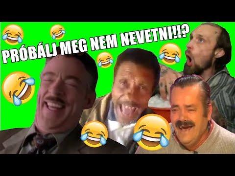 PRÓBÁLJ MEG NEM NEVETNI    / MAGYAR /