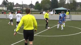 Blindenfussball Länderspiel Deutschland - Rumänien in Dortmund