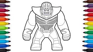 Infinity war coloring page videos