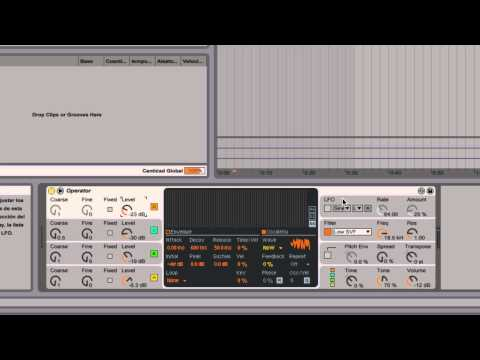 Ableton Live - Tutorial 11 : Síntesis